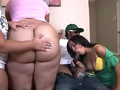 Steamy black bbw gets plugged hard black chubby porn