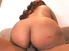 Splendid black fatty takes up cock black chubby porn
