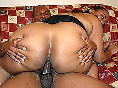 Cock Hungry Fat Black Amateur Fucks